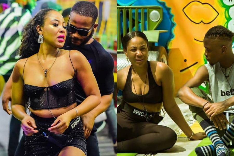 """#BBNaija: """"I'm Mentally Attracted To You And Physically Attracted To Kiddwaya – Erica Tells Laycon (Videos)"""