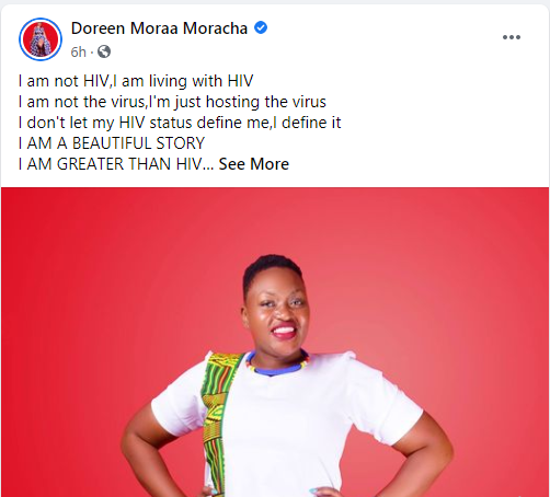 Lady Reveals She Has Been Living With HIV For 28 Years
