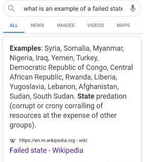 Wikipedia Adds Nigeria To List Of Failed States