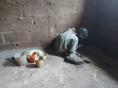 Police Rescues Man Whose Father Chained For 15 Years In Kano (Photos)
