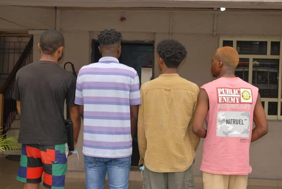 EFCC Arrests Four Students Of UNIPORT Over Alleged $111,500 Internet Fraud (Photos)