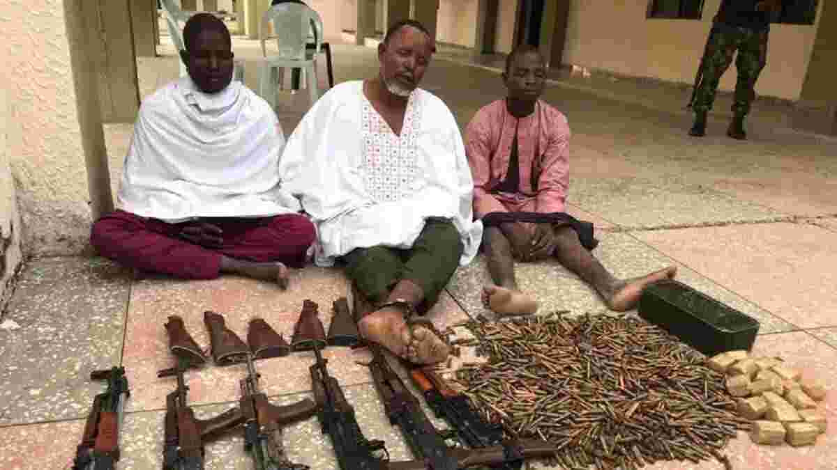 Three Foreigners Arrested For Supplying Weapons To Bandits Who Terrorize The North