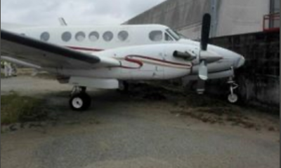 Jet Suffers Brake Failure, Rams Into Fence At Lagos Airport (Photos) 16
