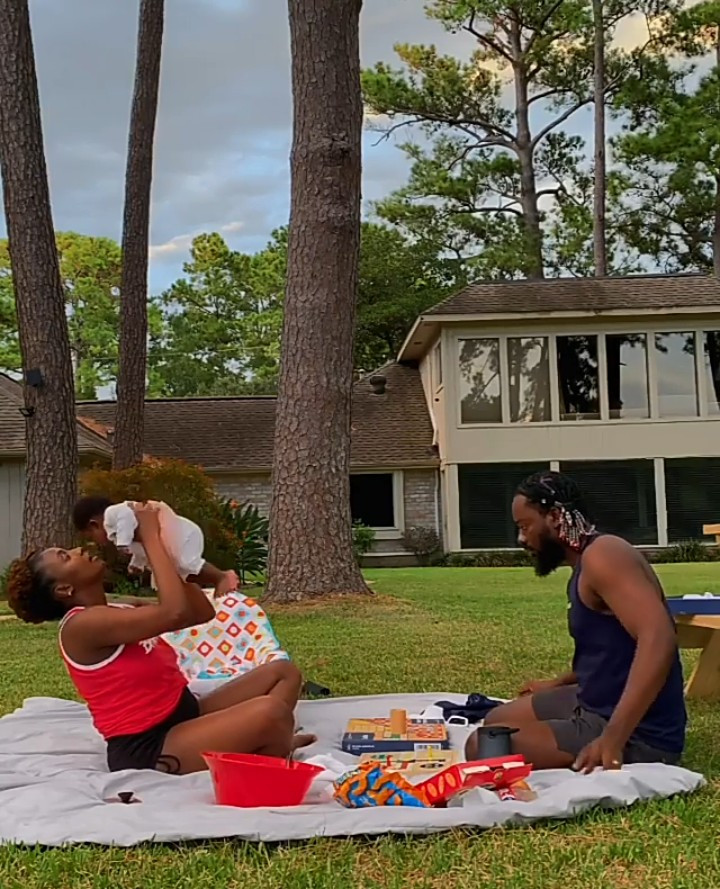 Adekunle Gold And Simi Serve Us Couple Goals As They Spend Quality Time With Their Daughter (Video)