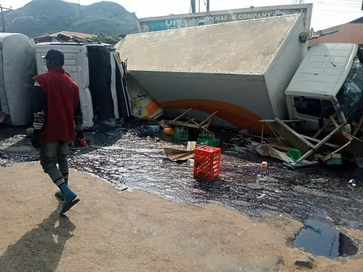 Pregnant Woman, Her Two Kids, Burnt To Death In Tanker Accident In Ondo (Photos)
