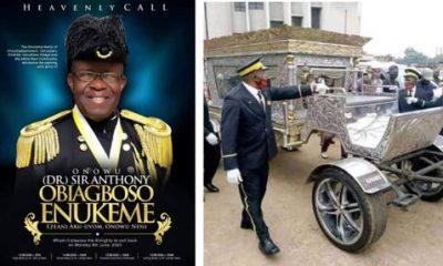"""Photos From Chief Anthony """"Tonimas"""" Enukeme Burial"""