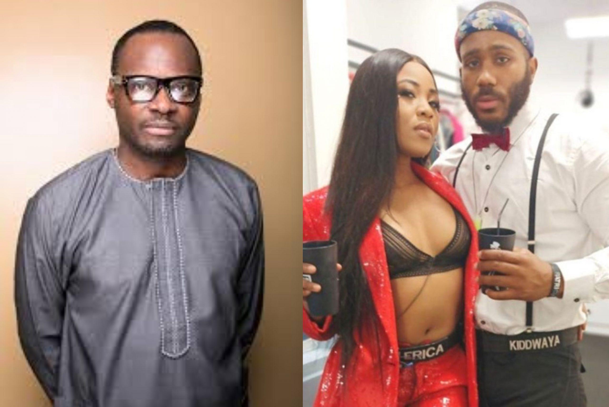 #BBNaija: Erica May End Up With Kiddwaya's Dad If He Introduces Her To Him - Ayo Shonaiya