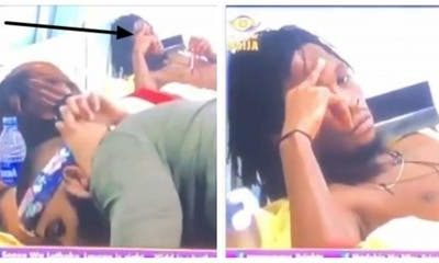 #BBNaija: See The Moment Laycon Almost Cried Seeing Kiddwaya Kiss Erica (Video)