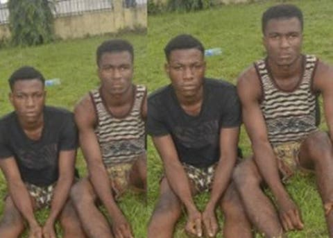 Two Brothers Arrested For Gang-Raping Their 13-Year-Old Cousin In Imo (Photo)