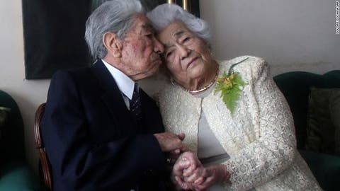 Meet The World's Oldest Married Couple (Photos)