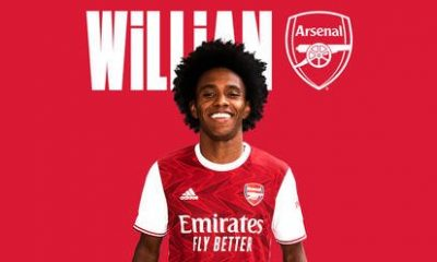 Arsenal Completes Signing Of Willian From Chelsea 1