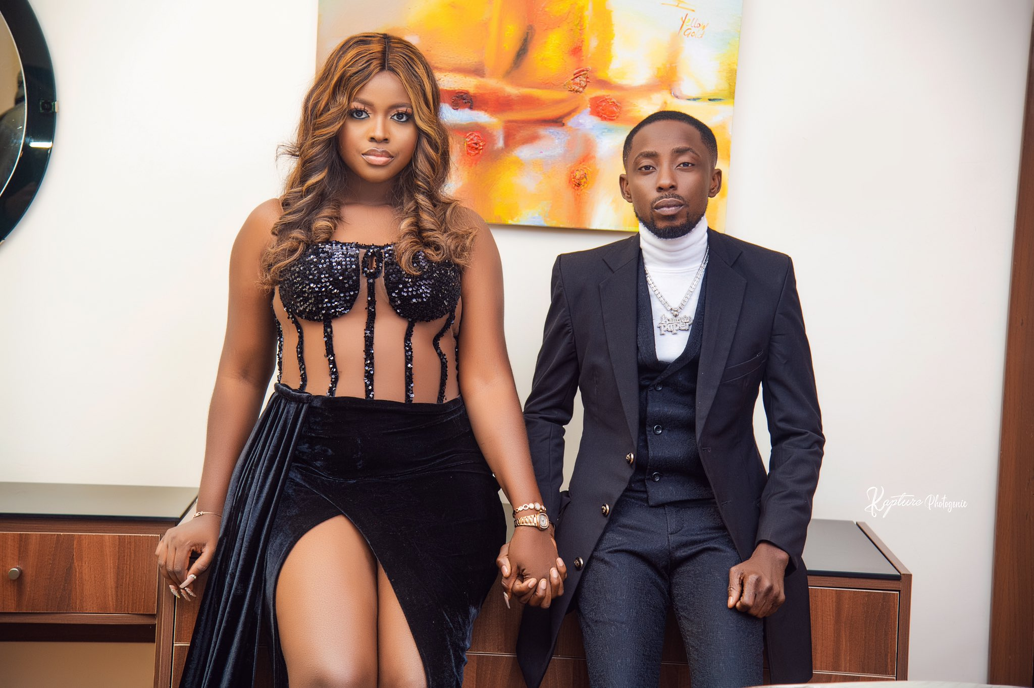 Erigga Set To Marry His Girlfriend In October, Shares Pre-wedding Pictures