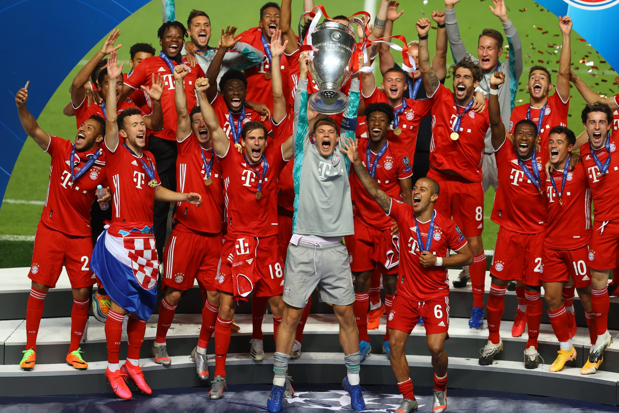 Bayern Munich Beat PSG To Win 2019/20 UEFA Champions League