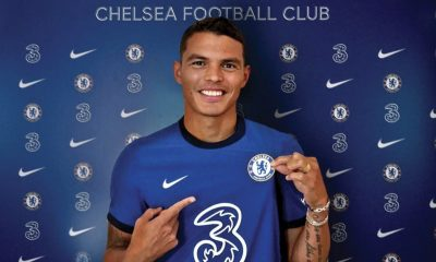 Chelsea Completes Signing Of Thiago Silva From PSG