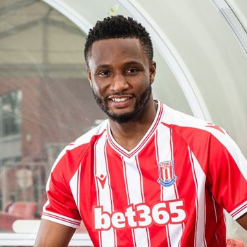 Stoke City Signs Mikel Obi In One-Year Deal
