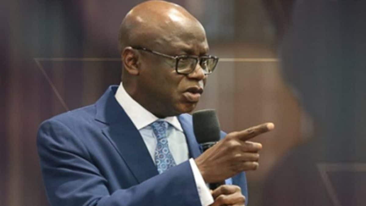 Pastor Tunde Bakare Says NO To Reopening Of Churches In Lagos