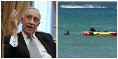 Portugal President Jumps Into Water, Saves Two Women From Drowning (Photos)