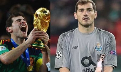 Real Madrid legend, Iker Casillas retires from football after suffering a heart attack