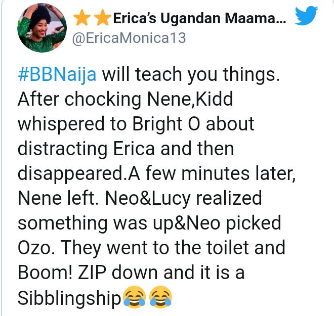 #BBNaija: Ozo Catches Kiddwaya Zipping Down Nengi's Cloth In The Toilet (Video)