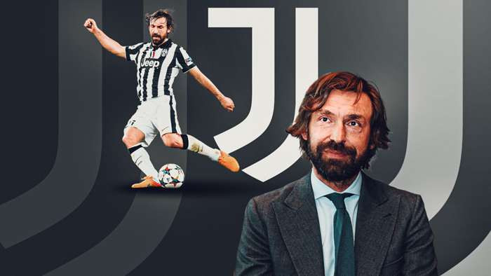 Juventus Appoints Andrea Pirlo As New Coach