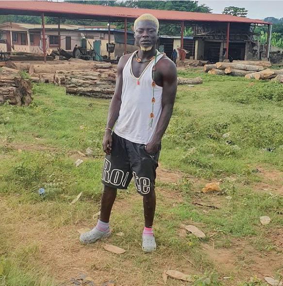 Nigerian P*rn Star, Kingtblakhoc Reveals Why He's Always Dirty