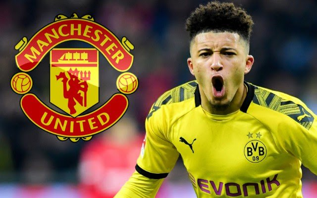 Jadon Sancho Agrees Terms With Manchester United