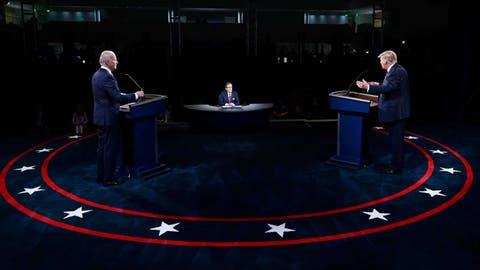 Will You Shut Up Man? - Biden Tells Trump During US Presidential Debate