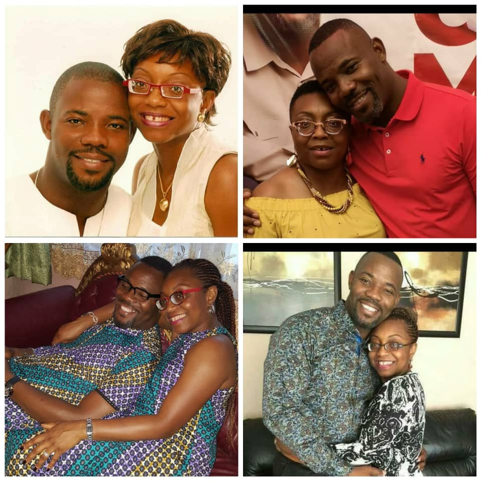 Comedian Okey Bakassi Showers His Wife With Sweet Words As They Mark 19th Wedding Anniversary