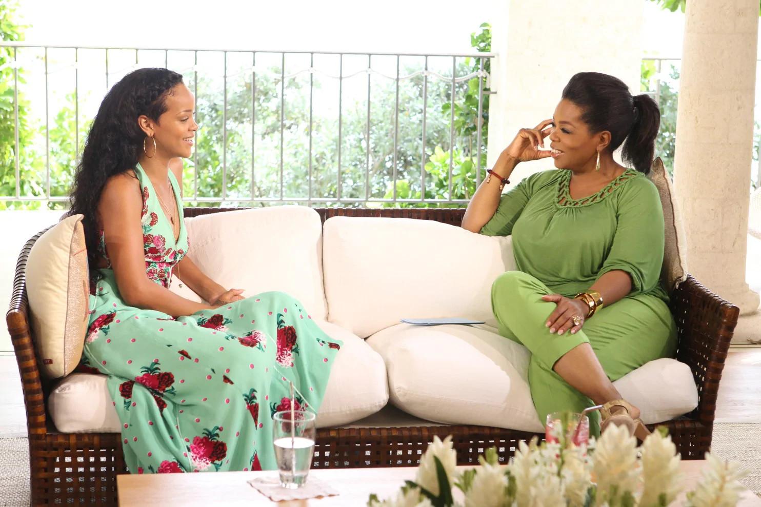 I Still Love Chris Brown, We're Friends Again - Rihanna Tells Oprah Winfrey