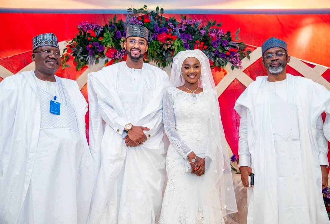 See Photos From President Buhari's Daughter, Hanan's Wedding