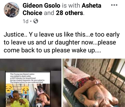22-Year-Old Lady Arrested For Stabbing Her Boyfriend To Death In Delta (Photos)