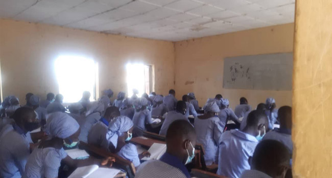 Chibok Students Seat For WAEC Exams 6 Years After Abduction Of Schoolgirls (Photos)