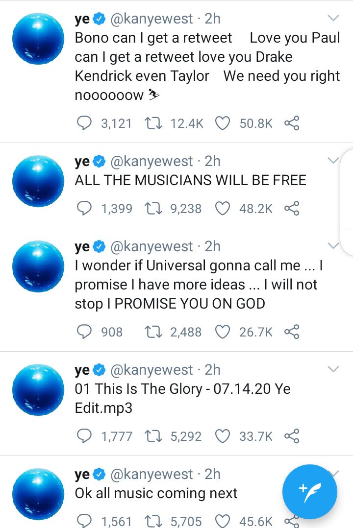 Kanye West Urinates On His Grammy Award, Attacks Universal Music (Video)