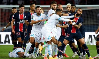 Neymar, Four Others Banned Over Fight During PSG vs Olympique de Marseille Game 1