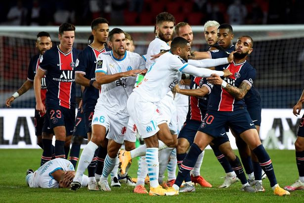 Neymar, Four Others Banned Over Fight During PSG vs Olympique de Marseille Game