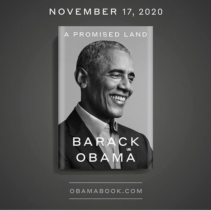 Barack Obama's New Memoir, A Promised Land, To Be Released In November 2020