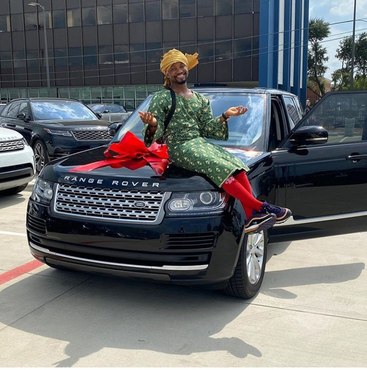 Comedian, Mama Tobi Gifts Himself Range Rover (Photos) 4