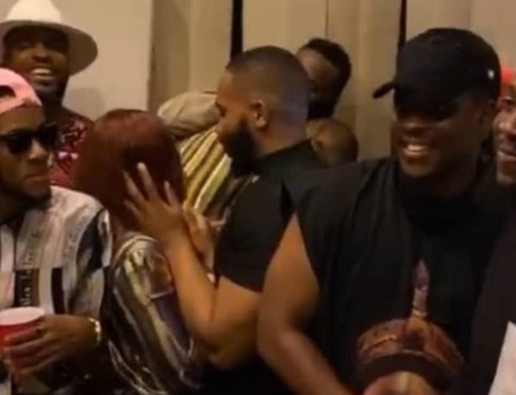 Erica And Kiddwaya Party Outside The BBNaija House (Photos/Video)