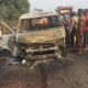 Lagos-Ibadan Expressway Accident Leaves 8 People Burnt To Death (Photos) 7
