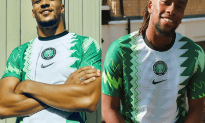 NFF Shows Off Super Eagles' New Jersey And You'll Love It! (Photos) 1
