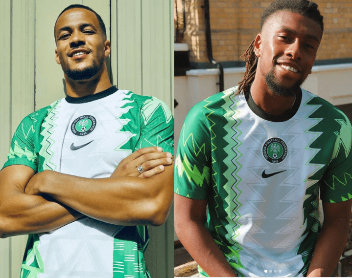 NFF Shows Off Super Eagles' New Jersey And You'll Love It! (Photos) 2