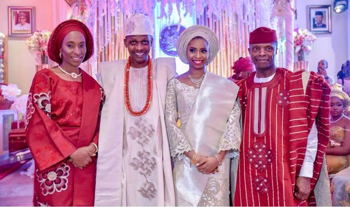 VP Osinbajo's Daughter And Her Husband Welcomes Baby Boy