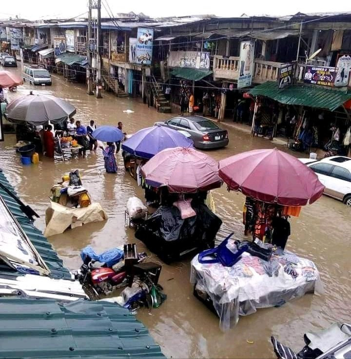 See The Terrible State Of Ariaria Market After Rainfall (Photos) 9