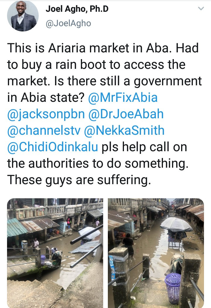See The Terrible State Of Ariaria Market After Rainfall (Photos)