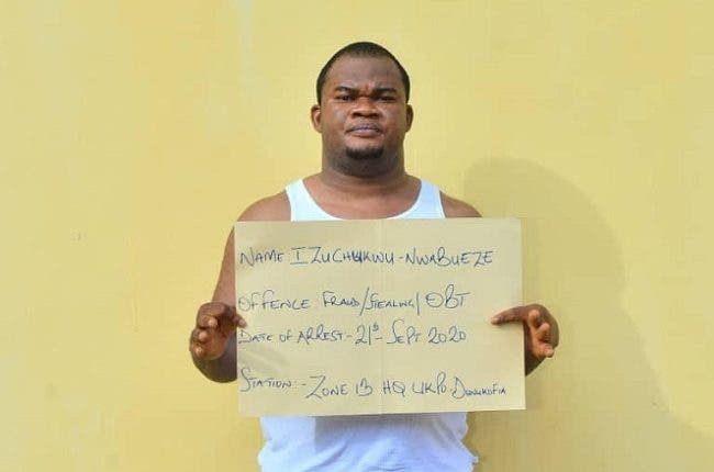 Police Arrest Man Who Posed As Aide To AIG To Defraud 11 People Of Over N10m (Photo)
