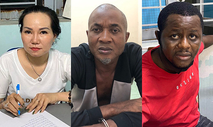 Drug Trafficking: Two Nigerian Men, One Woman Arrested In Vietnam