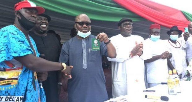 Former Delta State Governor Uduaghan Returns To PDP, From APC