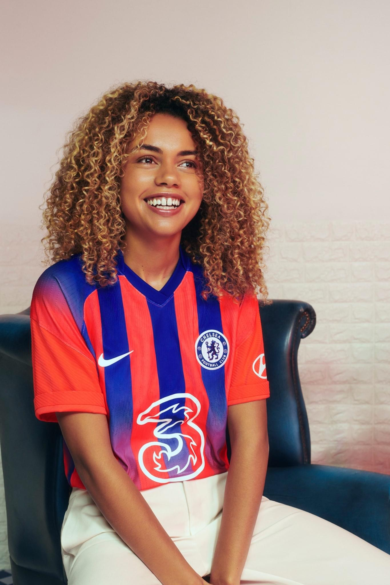 Chelsea Releases Their 2020/21 Third Jersey With Red And Blue Stripes (Photos)