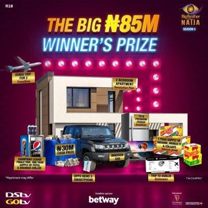 #BBNaija: List Of Things Big Brother Naija 2020 Winner Takes Home