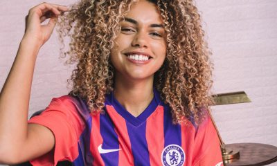 Chelsea Releases Their 2020/21 Third Jersey With Red And Blue Stripes (Photos) 15